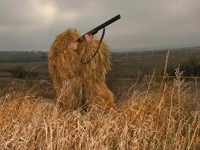 Как сделать костюм леший для охоты своими